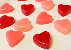 Raspberry Heart Chews