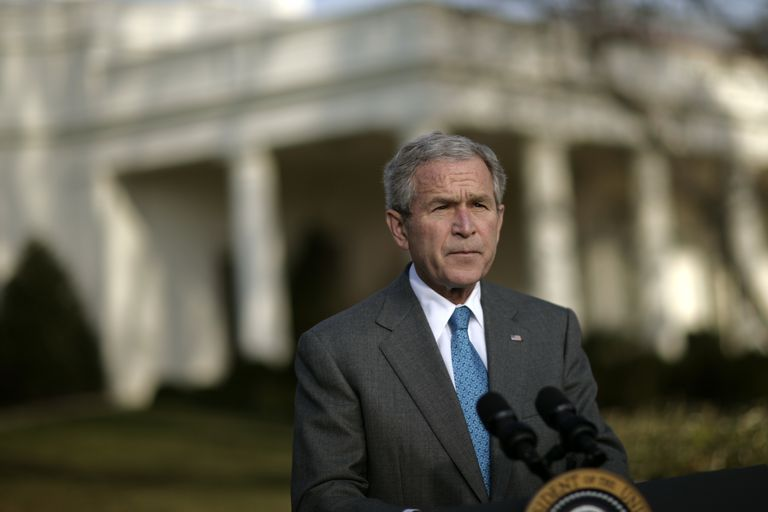 George W. Bush speaks about the FISA Act.