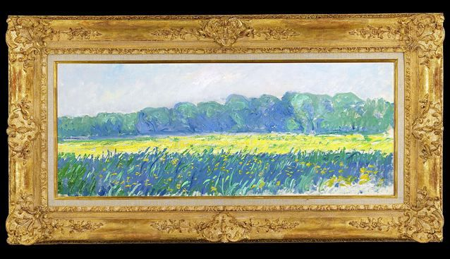 Claude Monet painting sold by M.S. Rau in New Orleans