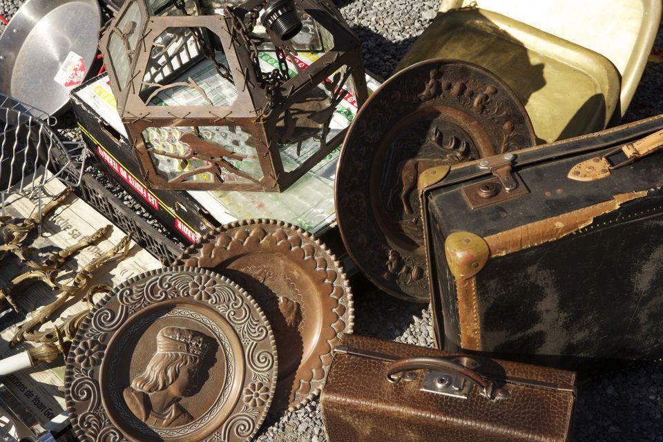 The Warrensburg Garage Sale has antique, vintage, and yard sale merchandise.