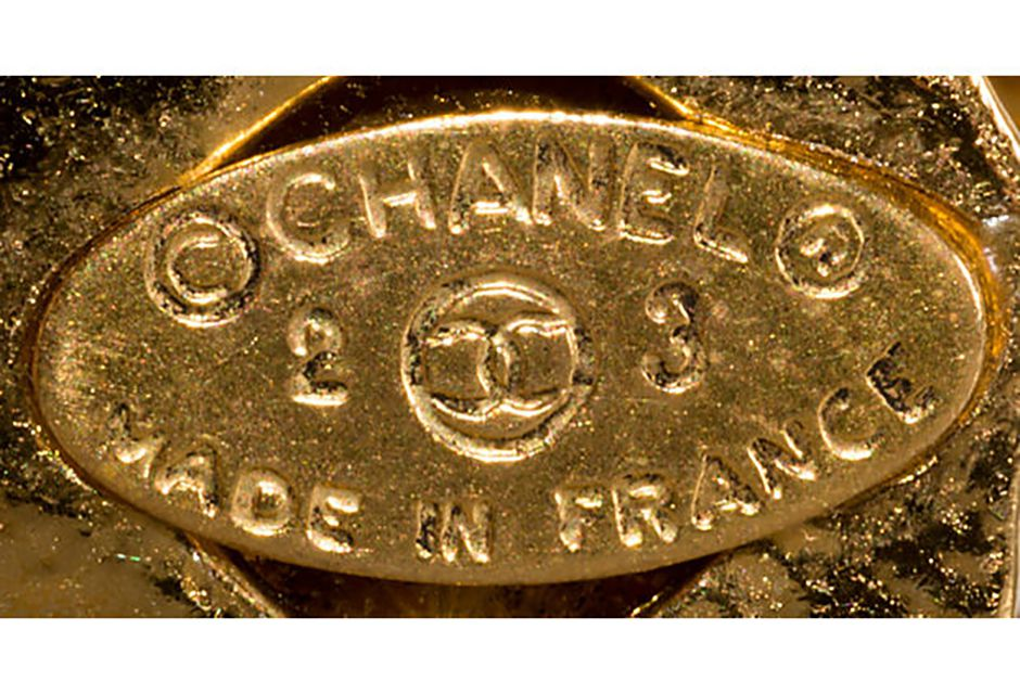 Chanel 1980s Oval Mark with Season Numbers