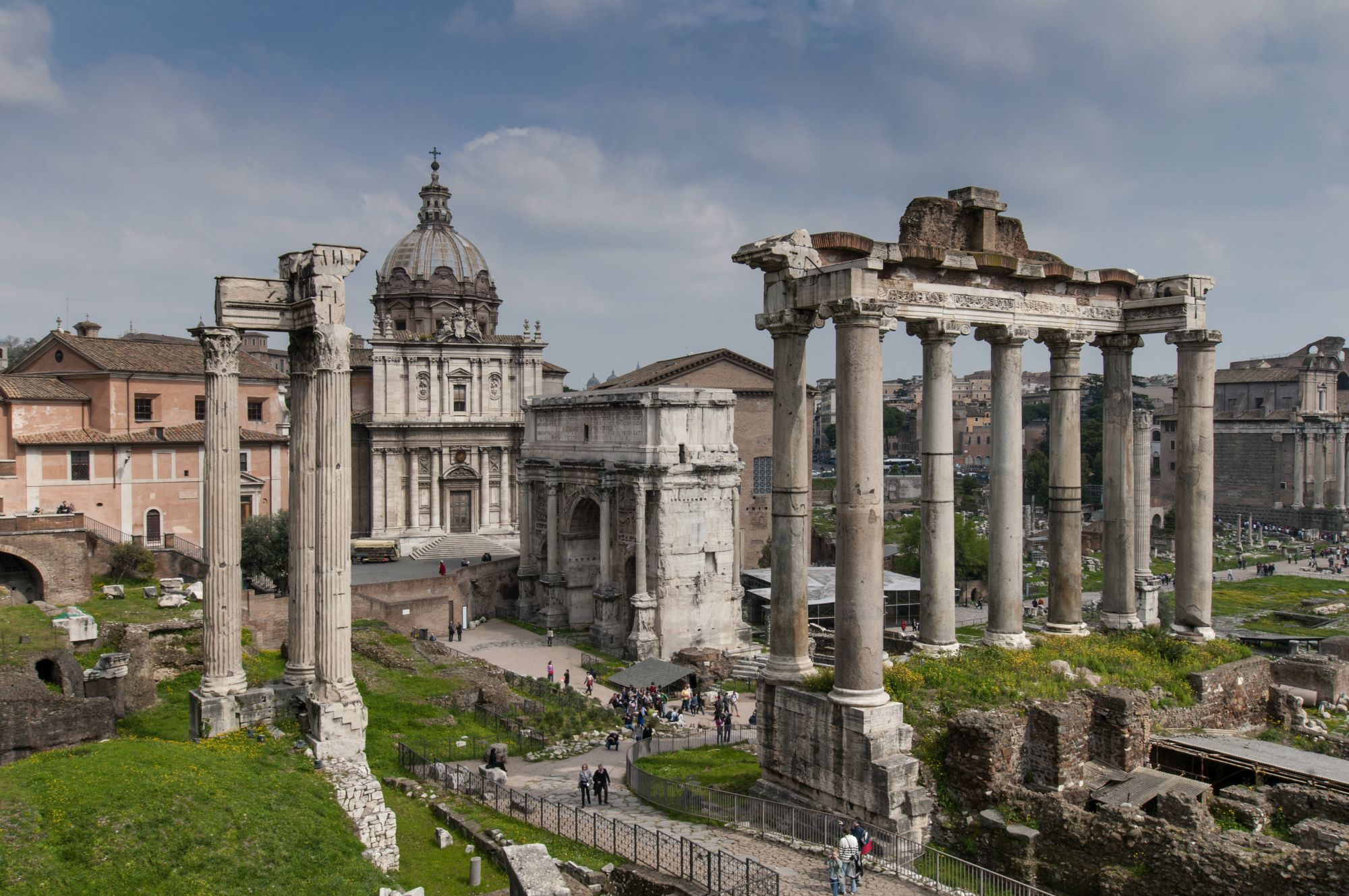 the roman forum - Roman Architecture