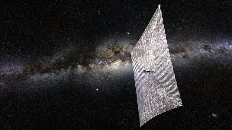 A solar sail