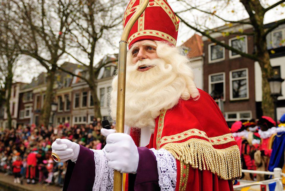 The arrival of Sinterklaas in Utrecht.