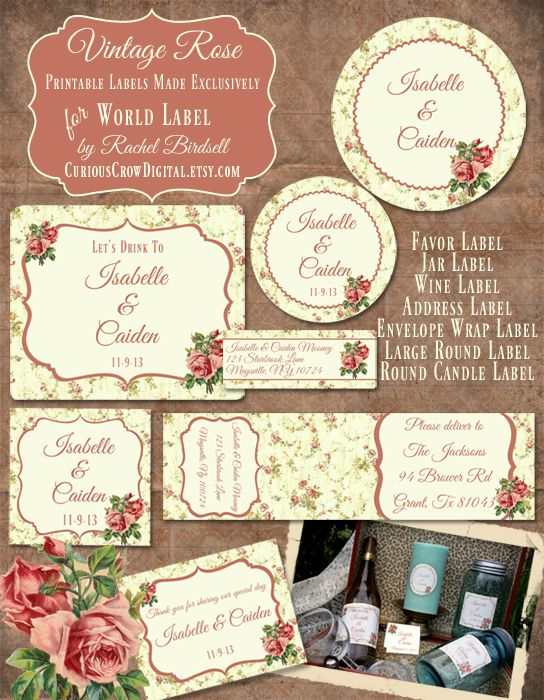 wedding mailing labels templates - free wedding label templates for favors and more