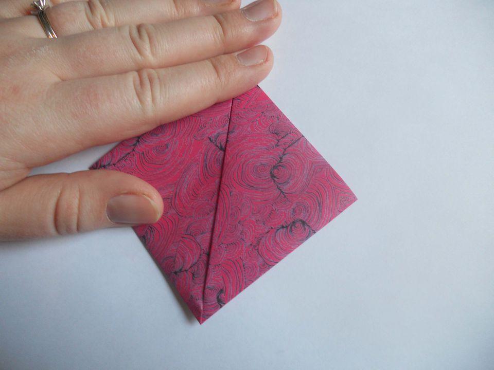 How to make an origami kusudama flower kusudama flower mightylinksfo
