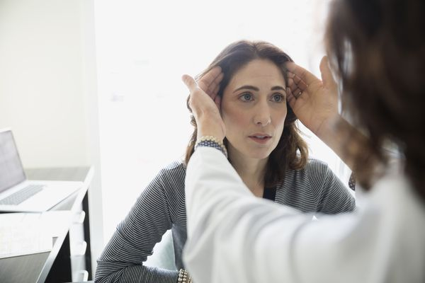 Woman getting doctor consultation