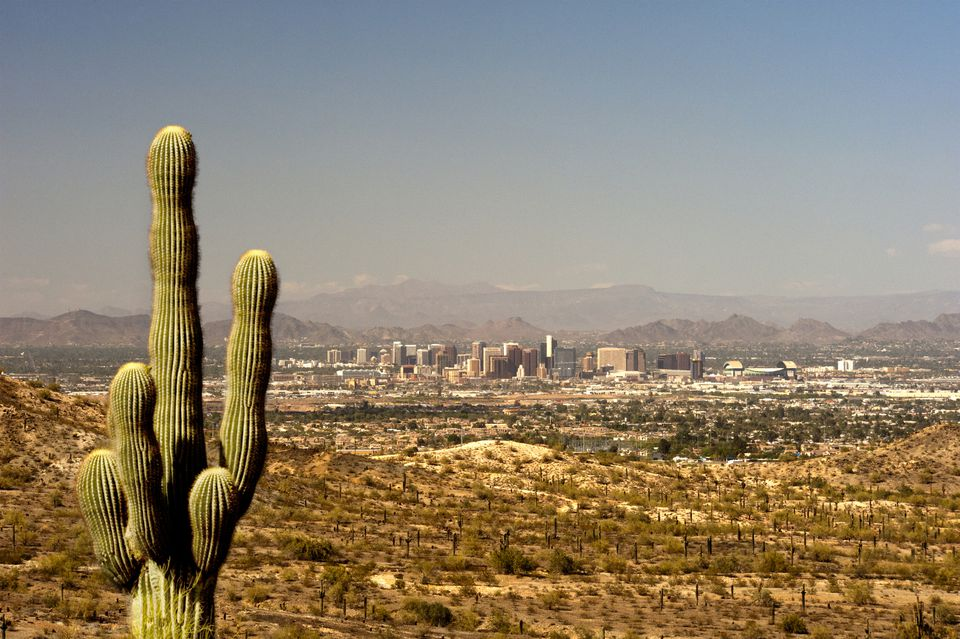 Phoenix, from South Mountain, Arizona