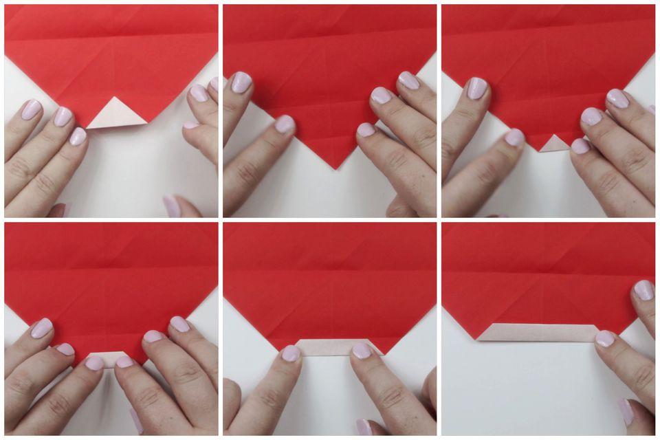origami santa tutorial 04