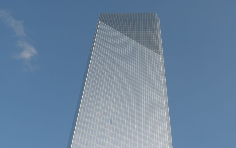 Four World Trade Center in Lower Manhattan, September 2013