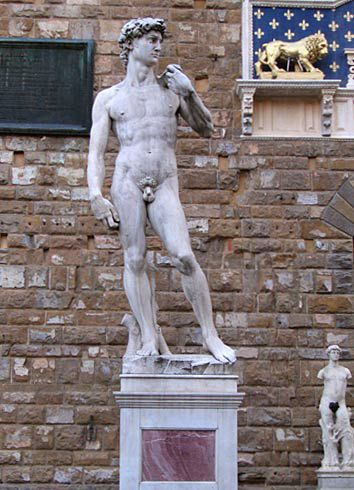 florence, david, palazzo vecchio, florence picture