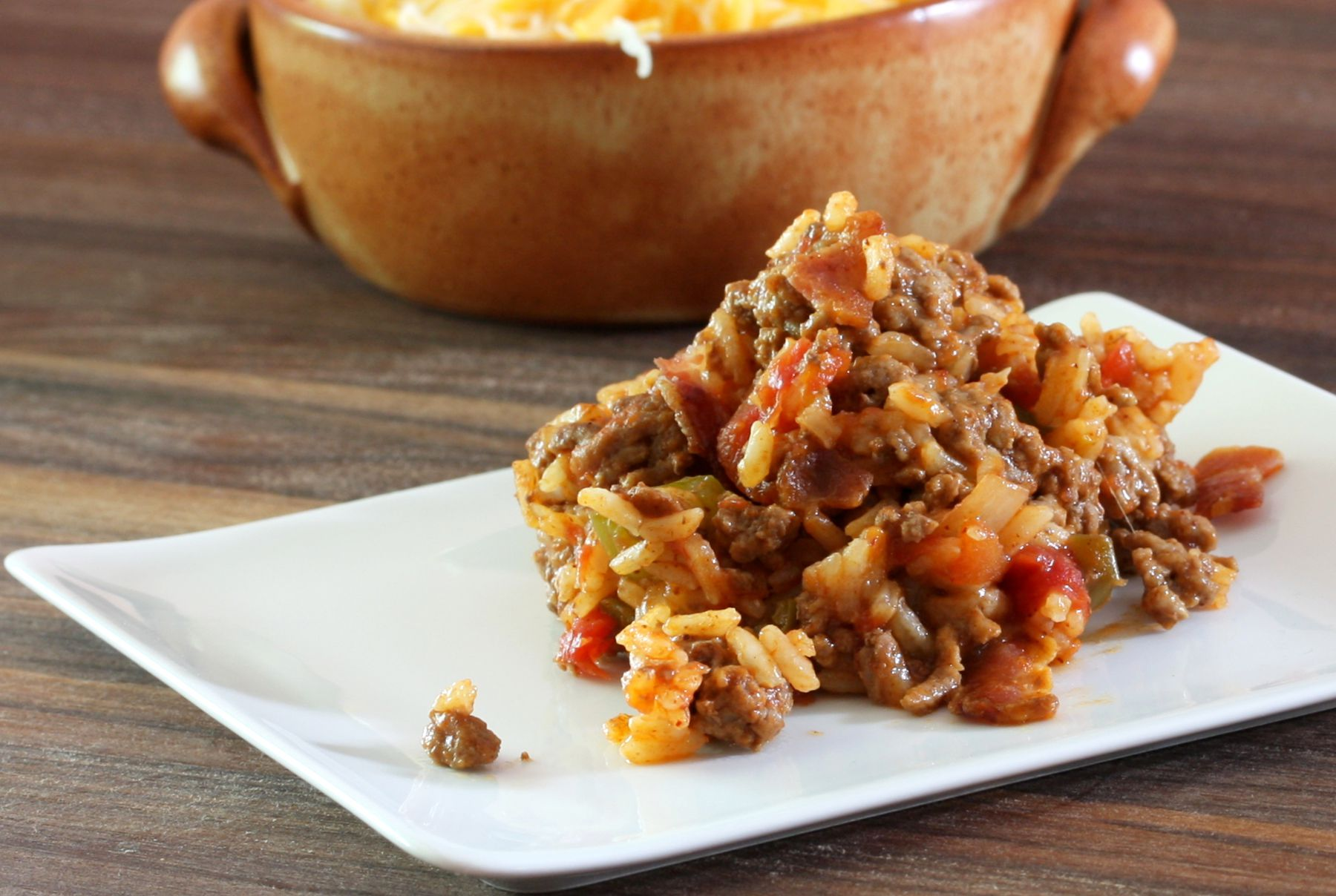 Easy Skillet Spanish Rice Recipe With Ground Beef