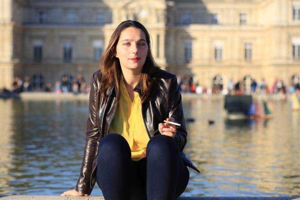 Parisian smoking