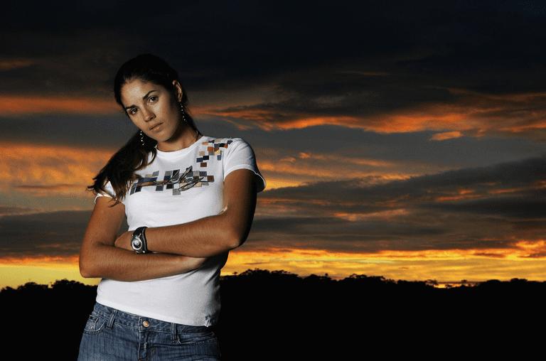 Australian golfer Nikki Garrett pictured in 2006