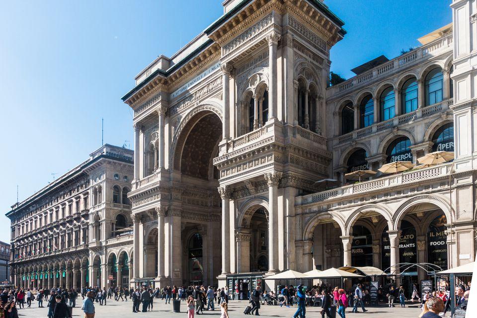 Galleria Vittorio Emanuele II, Milan, Italy.