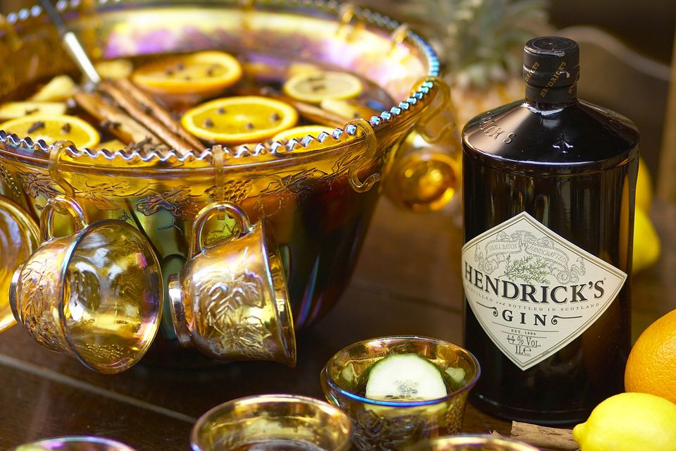 Hendrick's Gin and an Old Sydney Town Punch