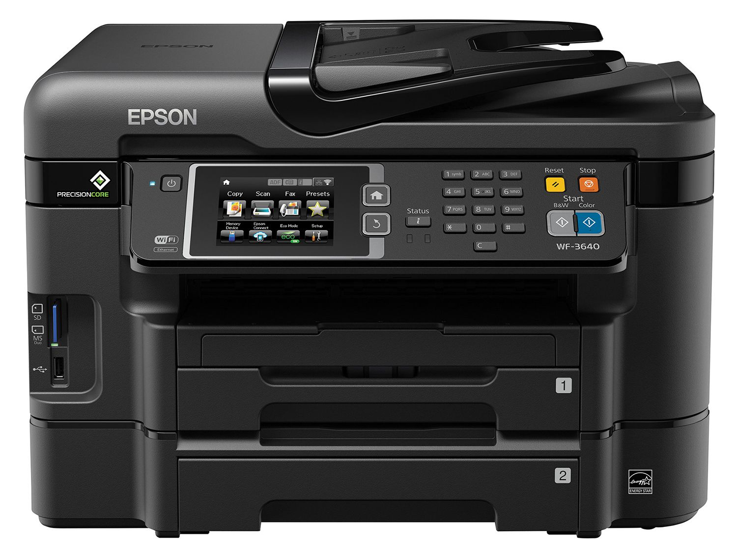 review epson workforce wf 3640 all in one printer. Black Bedroom Furniture Sets. Home Design Ideas