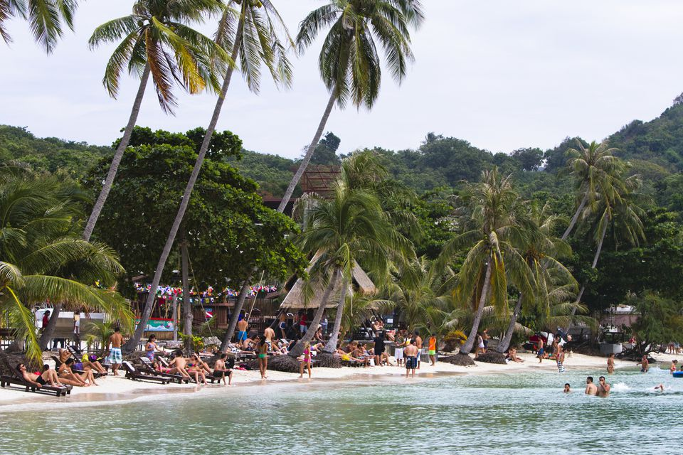 Haad Rin Beach Thailand