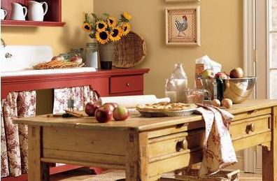 country kitchen paint colors country or rustic kitchen design ideas 6111