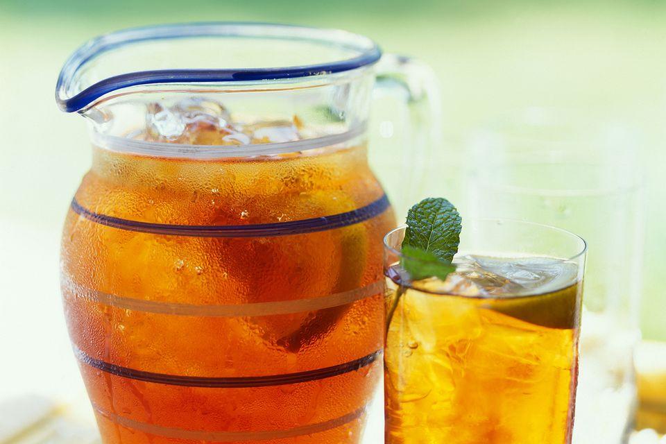 Sparkling Tea Cocktail