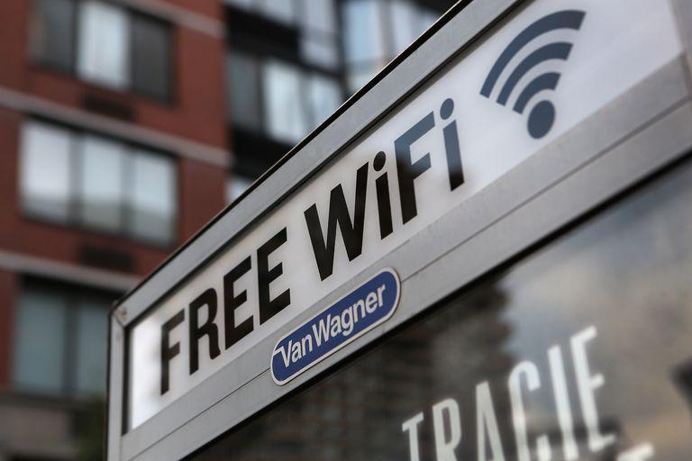 Free WiFi phone booth