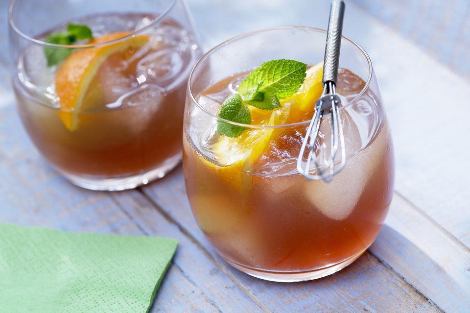 Summer Peach Tea