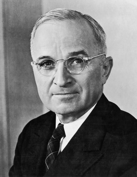 Picture of Harry S. Truman, the 33rd President of the United States.