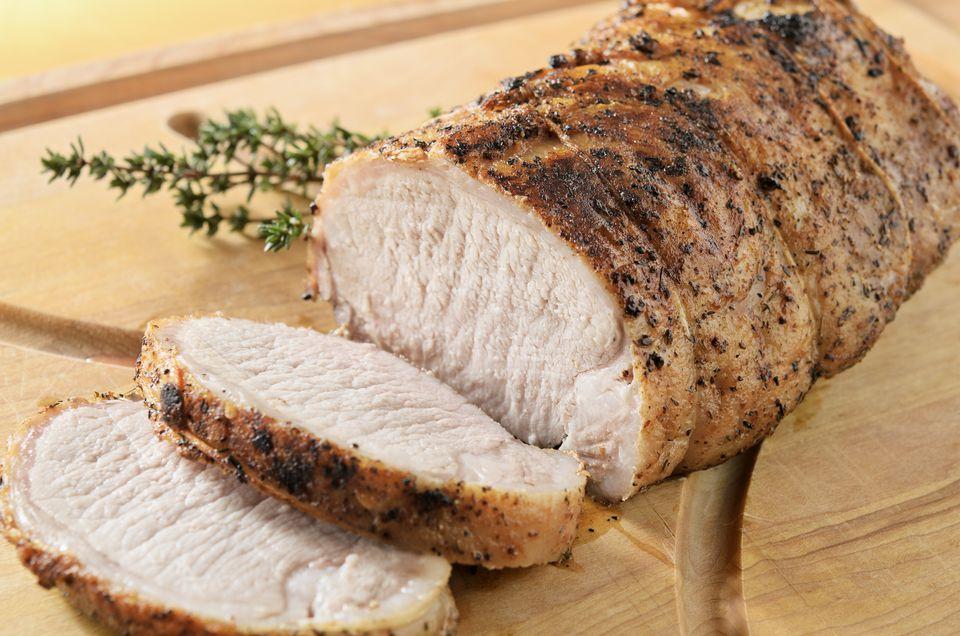 Normandy Style Pork Loin