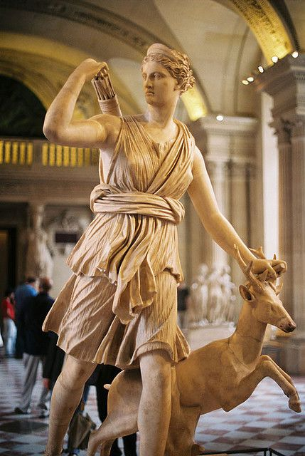 Artemis and Stag