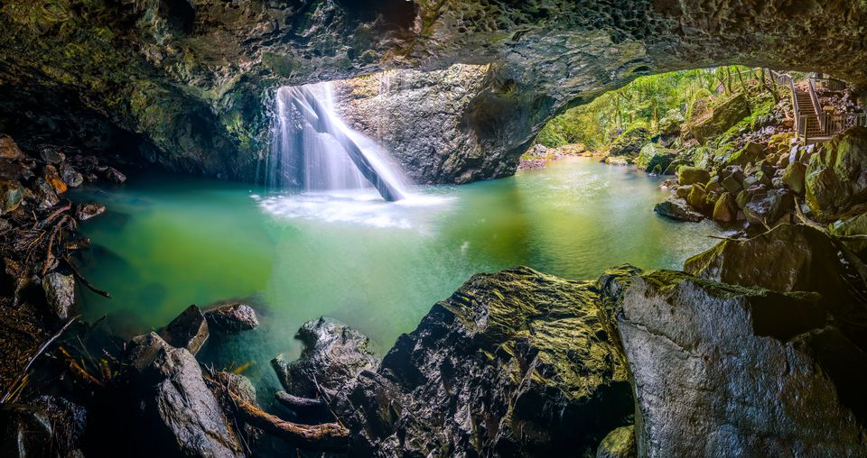Cave Creek at Springbrook National Park, Queensland