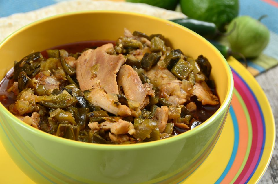 Chicken Chile Verde