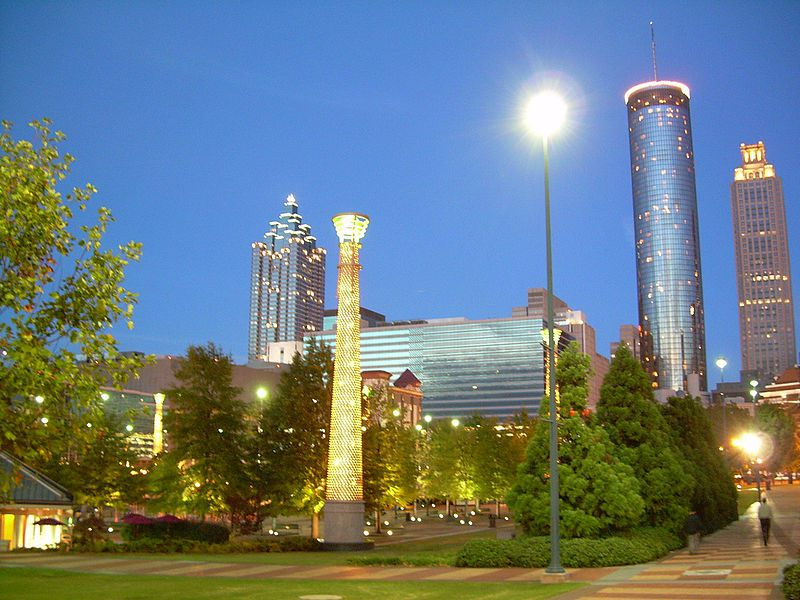http://commons.wikimedia.org/wiki/File:AtlantaCentennialOlympicPark.jpg