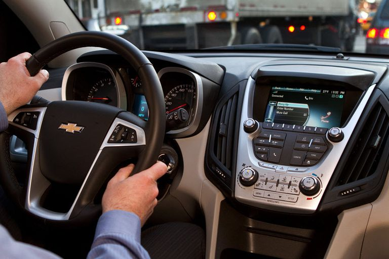 Pair a cell phone with your car for a handsfree audio experience.