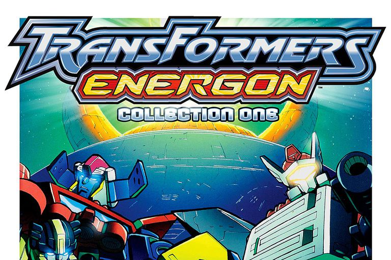 Transformers Energon DVD Cover Image