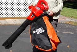 Picture of Leaf Hog leaf blower.
