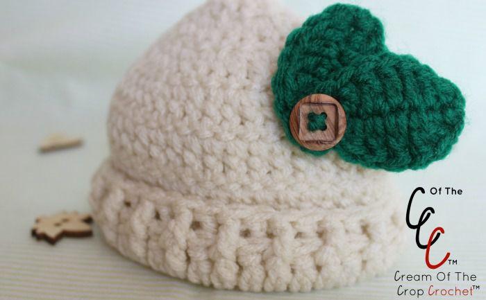 Baby Leaf Hat Free Crochet Pattern