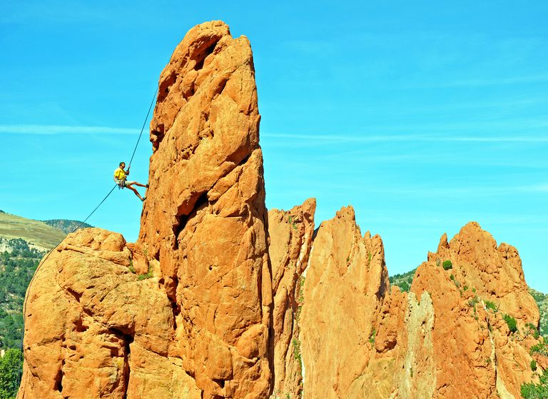 Rappelling requires many essential climbing skills to be safe.