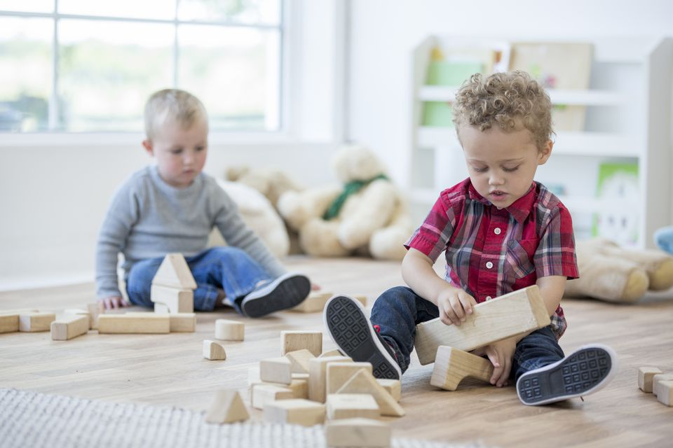 Playing with Wooden Blocks