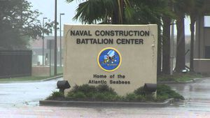 NCBC Gulfport sign