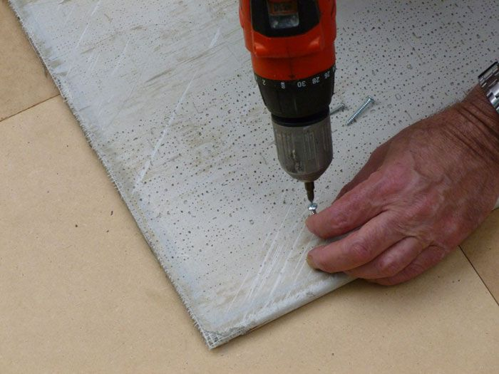 installing cementboard with screws