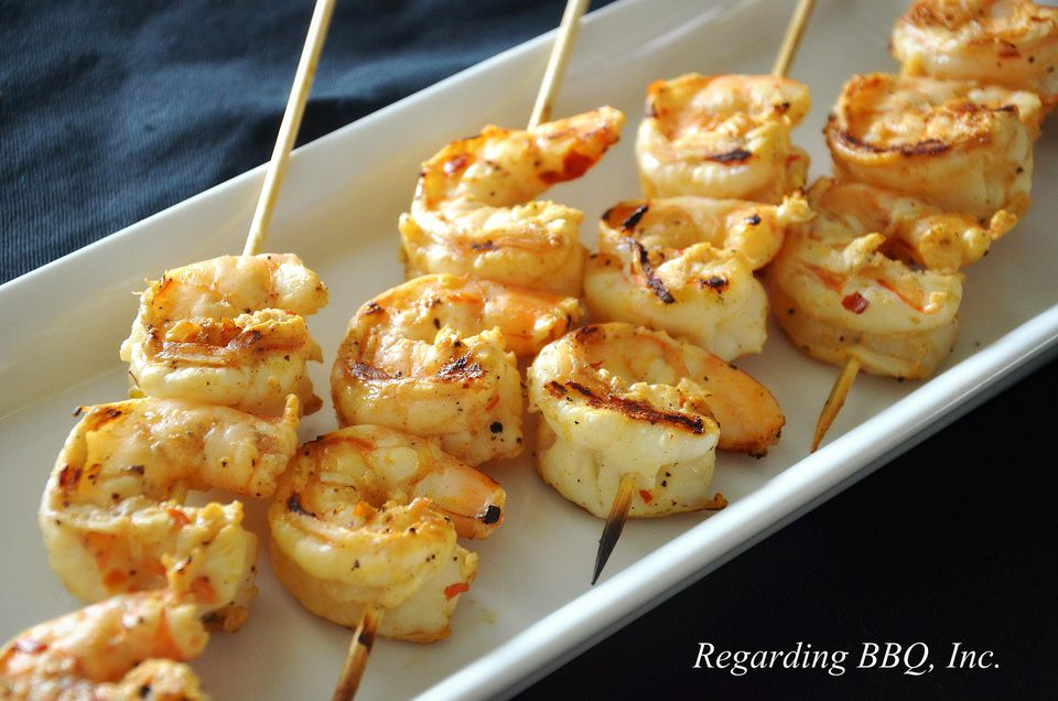 Grilled Red Pepper Shrimp