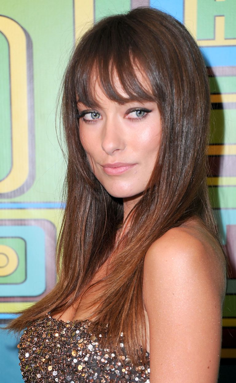 The best bangs for your face shape oval faces can pretty much wear anything urmus Image collections