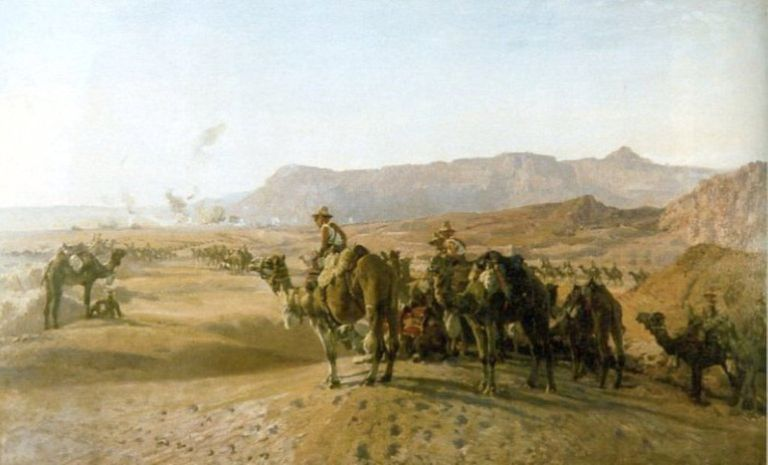 Battle of Magdhaba during World War I
