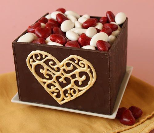 Make And Take Room In A Box Elizabeth Farm: How To Make Chocolate Boxes
