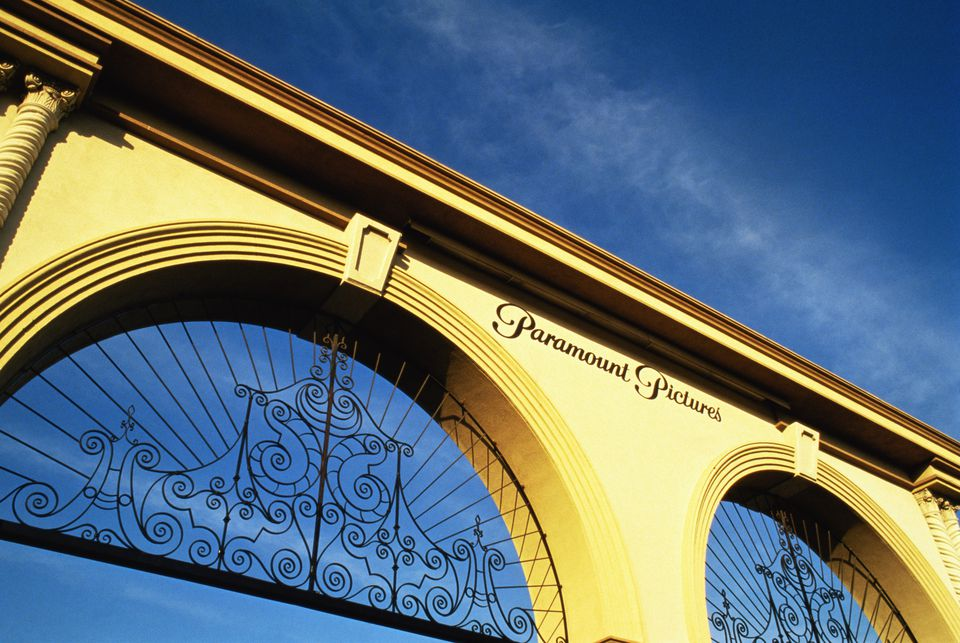 Paramount Pictures studio EDITORIAL USE ONLY