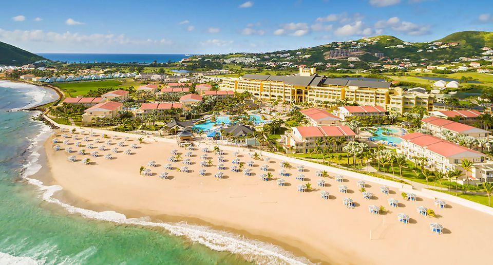 St. Kitts, Marriott Resort, and Royal Beach Casino