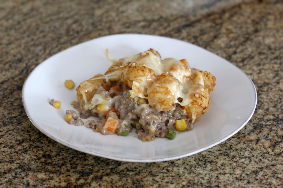 Tater Tot Casserole, Slow Cooker