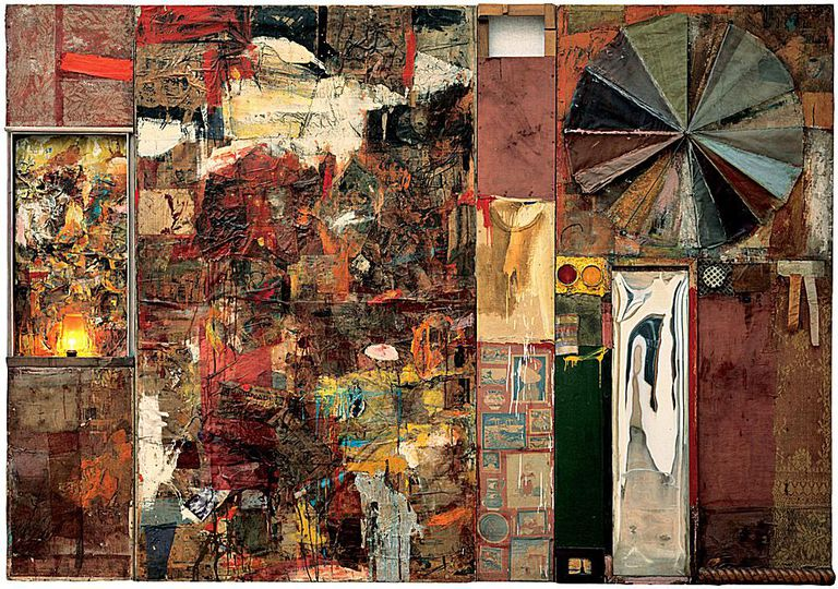 © Robert Rauschenberg / Adagp, Paris, 2006; Used with permission