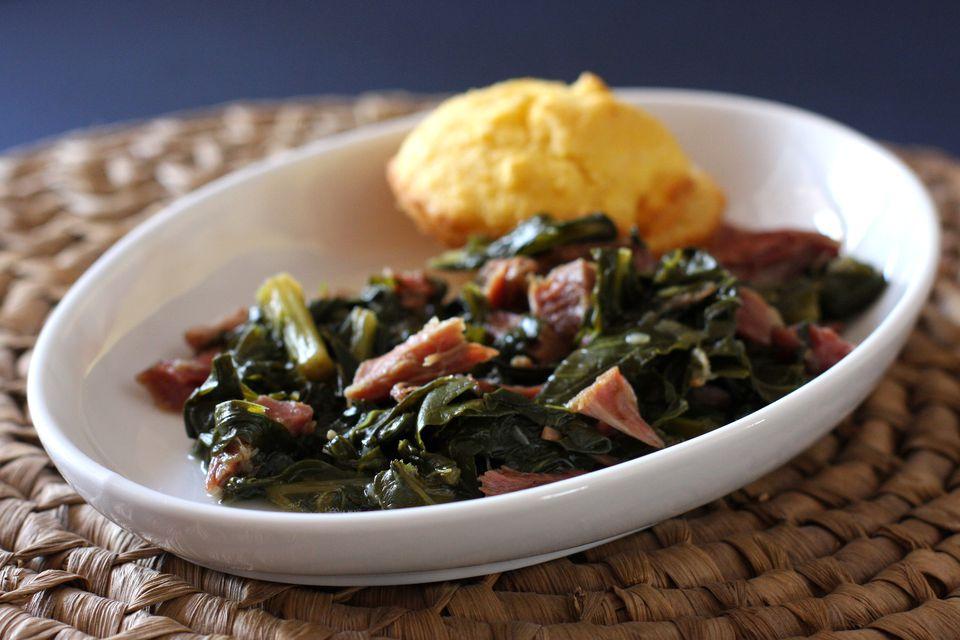 turnip greens and ham shanks