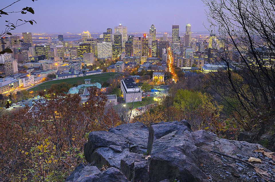 Mount Royal Park, aka parc du Mont-Royal, is one of Montreal's top attractions.